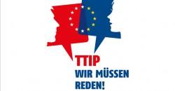 Im Dialog: TTIP - Ein kontroverses Freihandelsabkommen – als Münchner Vorstandsmitglied der Europa Union setzt sich auch Prof. Piazolo intensiv für den Dialog mit den Bürgern zu TTIP ein [Foto: europa-union deutschland]